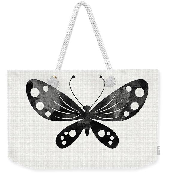 Midnight Butterfly 3- Art By Linda Woods Weekender Tote Bag