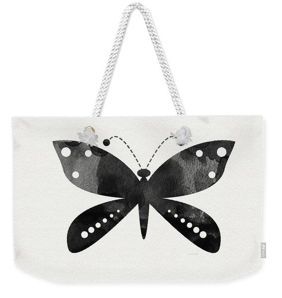 Midnight Butterfly 4- Art By Linda Woods Weekender Tote Bag