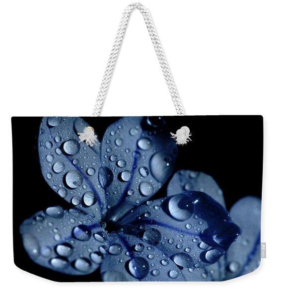 Midnight Dew Weekender Tote Bag