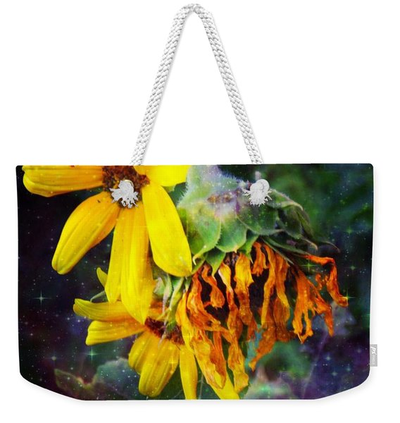 Midnight  In The Garden Weekender Tote Bag