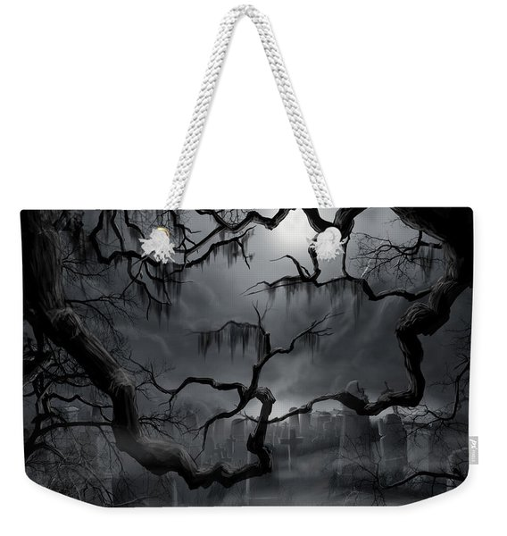 Midnight In The Graveyard II Weekender Tote Bag