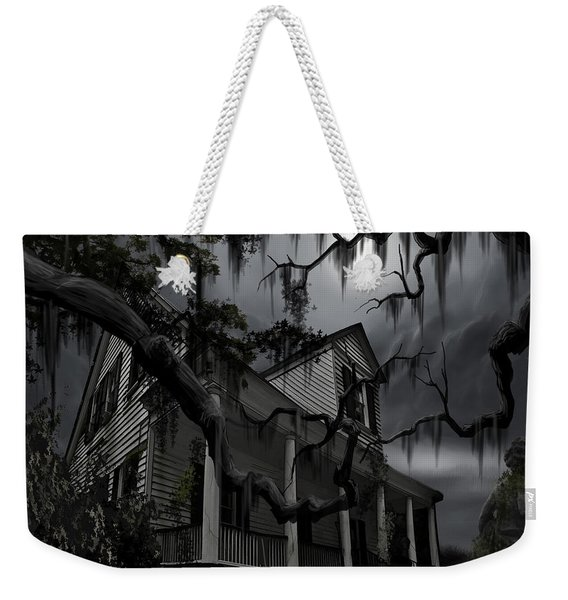 Midnight In The House Weekender Tote Bag