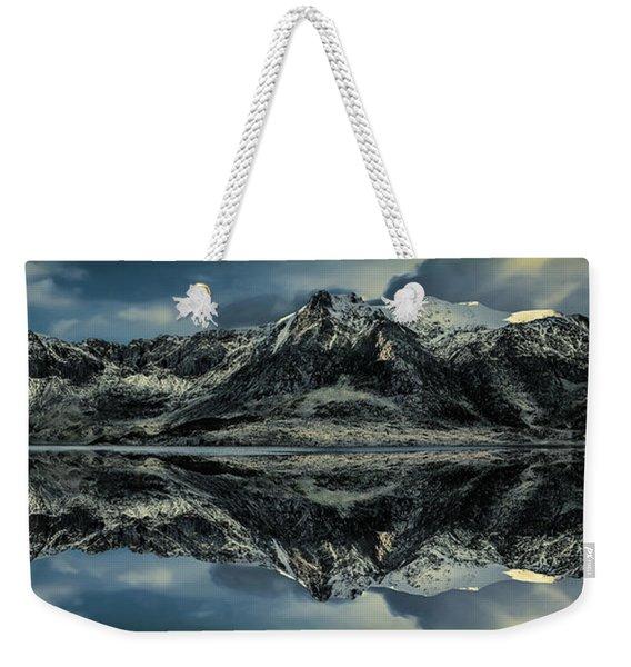 Midnight Lake Weekender Tote Bag