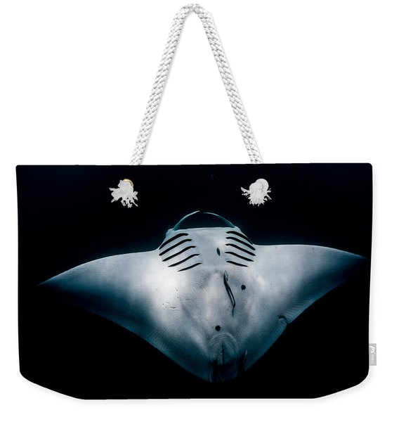 Midnight Manta Weekender Tote Bag