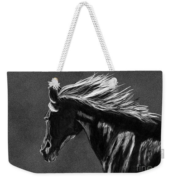 Midnight Ride Weekender Tote Bag