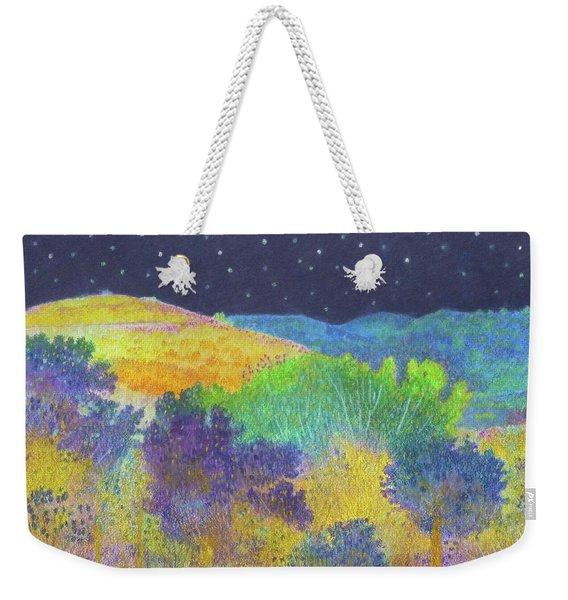 Midnight Trees Dream Weekender Tote Bag