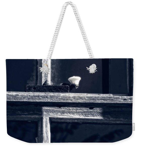 Midnight Window Weekender Tote Bag