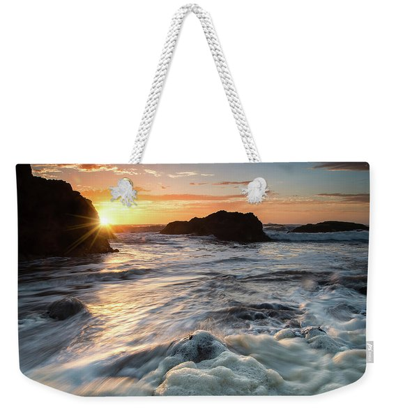 Pescadero Sunset Weekender Tote Bag