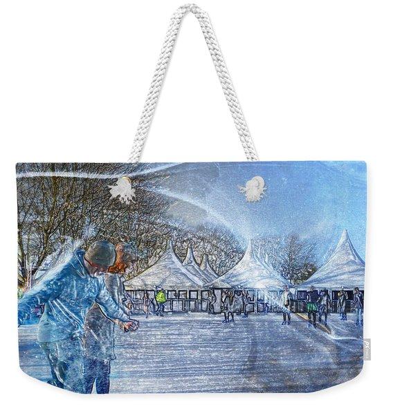 Midwinter Blues Weekender Tote Bag