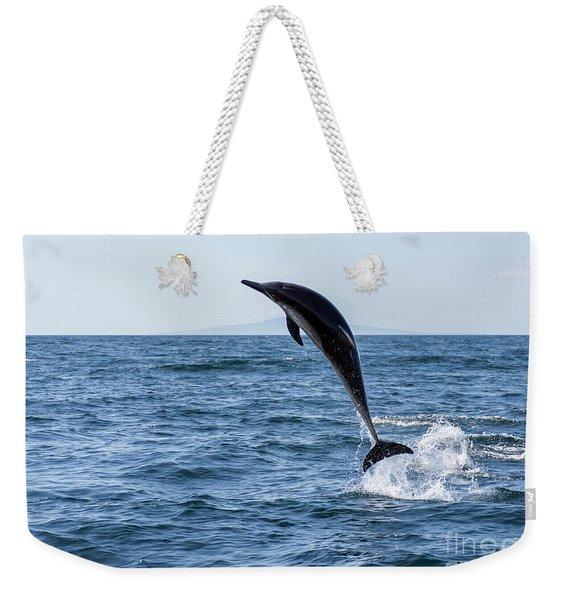 Might As Well Jump Weekender Tote Bag