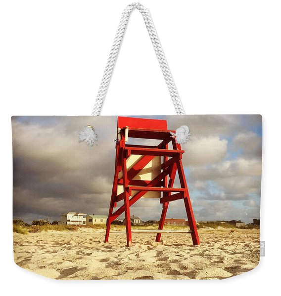Mighty Red Weekender Tote Bag