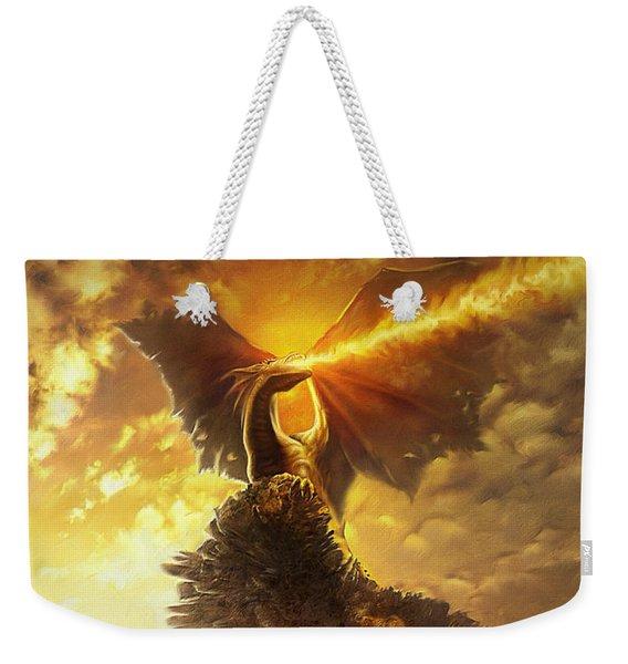 Mighty Dragon Weekender Tote Bag
