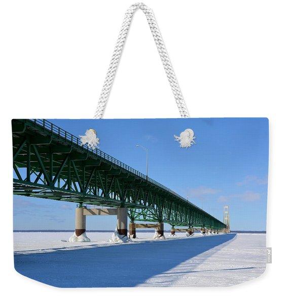 Mighty Mac On Ice Weekender Tote Bag