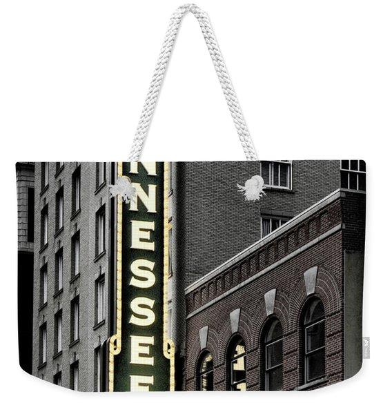 Mighty Tennessee Weekender Tote Bag