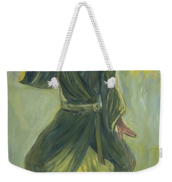 Mighty Woman Kick-butt Weekender Tote Bag