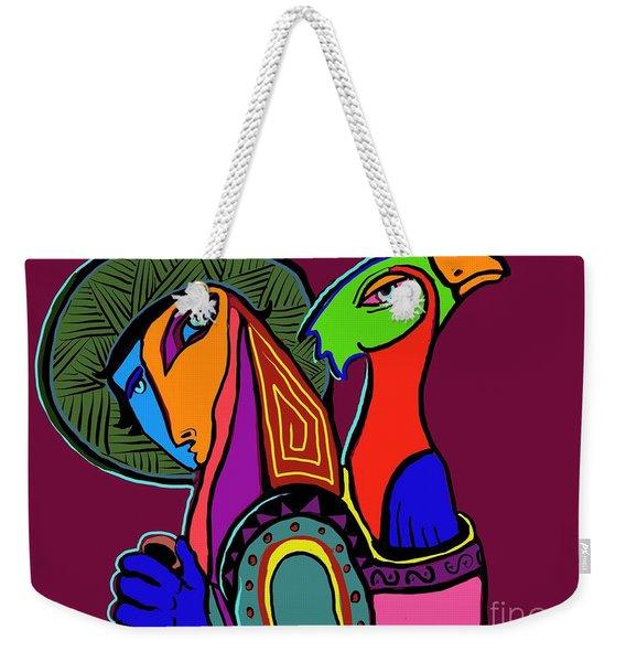 Migrating Bird Weekender Tote Bag
