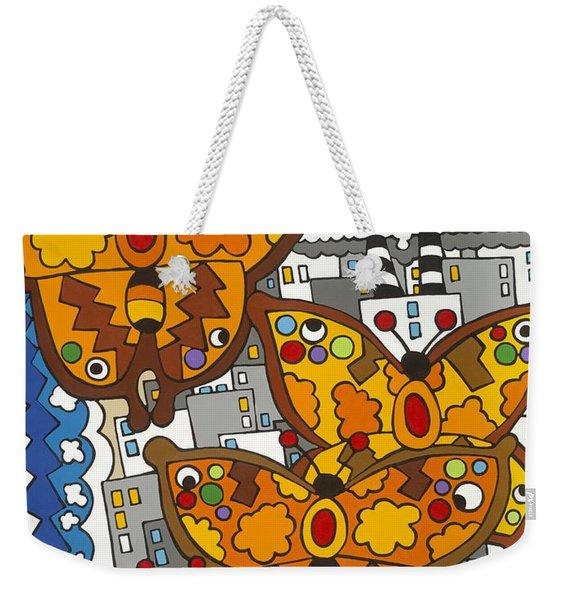 Migration Weekender Tote Bag