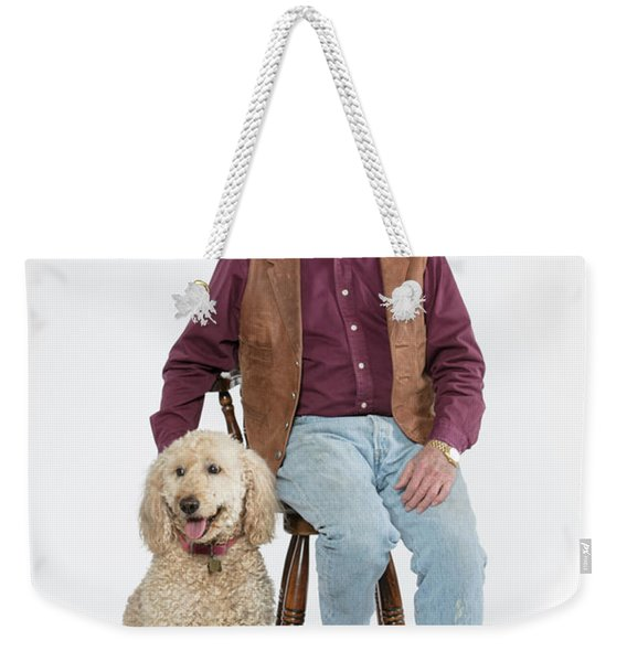 Mike Millie 01 Weekender Tote Bag