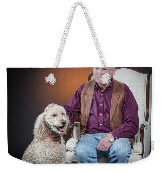 Mike Millie 06 Weekender Tote Bag