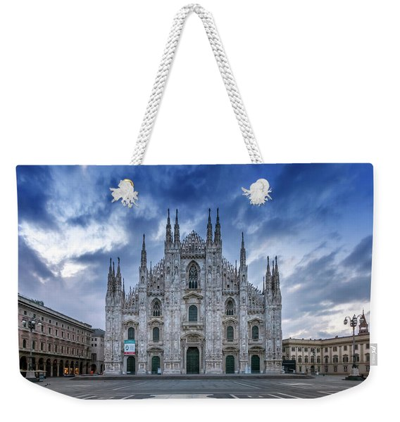 Milan Cathedral Santa Maria Nascente Weekender Tote Bag