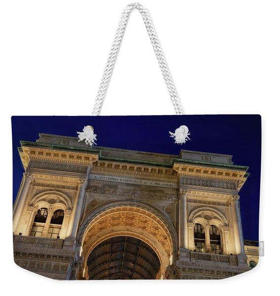 Milan Galleria Night Weekender Tote Bag