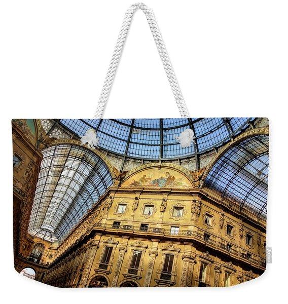 Milan Galleria Vittorio Emanuele II  Weekender Tote Bag