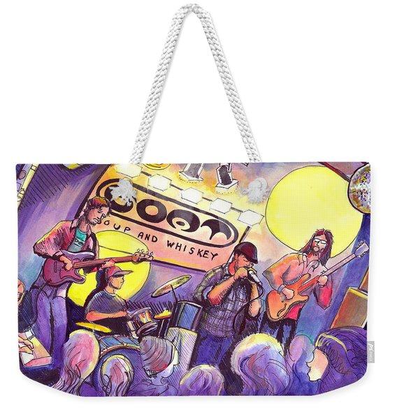 Miles Guzman Band Weekender Tote Bag