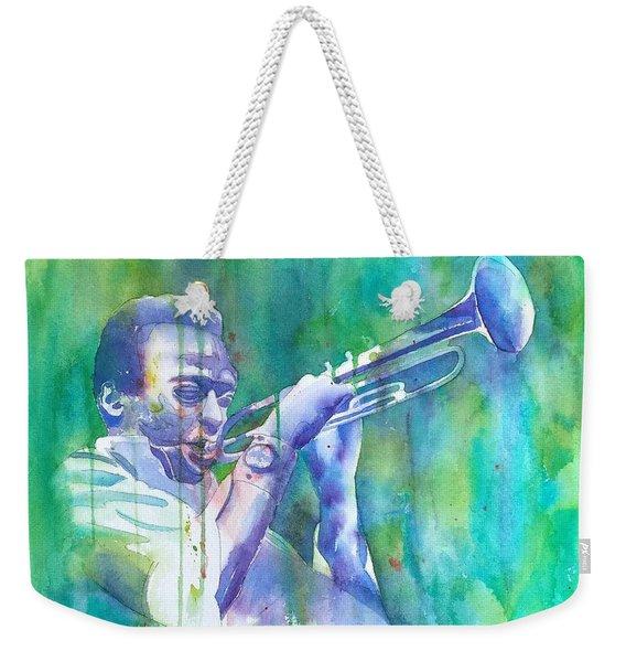 Miles Is Cool Weekender Tote Bag