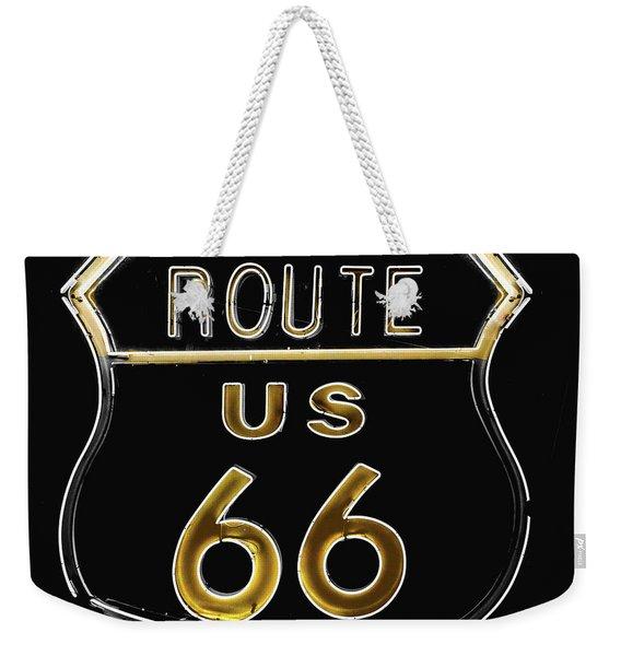 Milk And Honey Route 66 Weekender Tote Bag