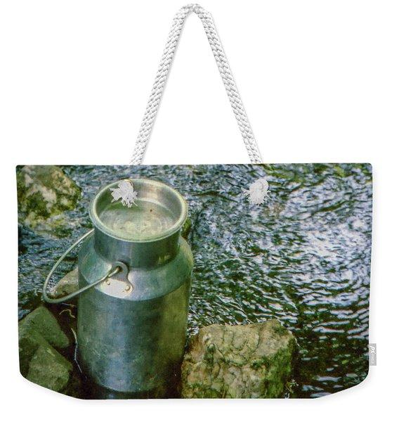 Milk Can - Wales Weekender Tote Bag