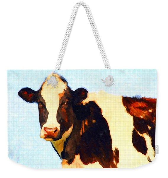 Milk Cow . Photoart Weekender Tote Bag