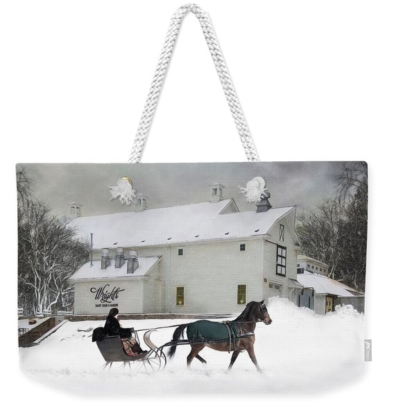 Milk Run Weekender Tote Bag