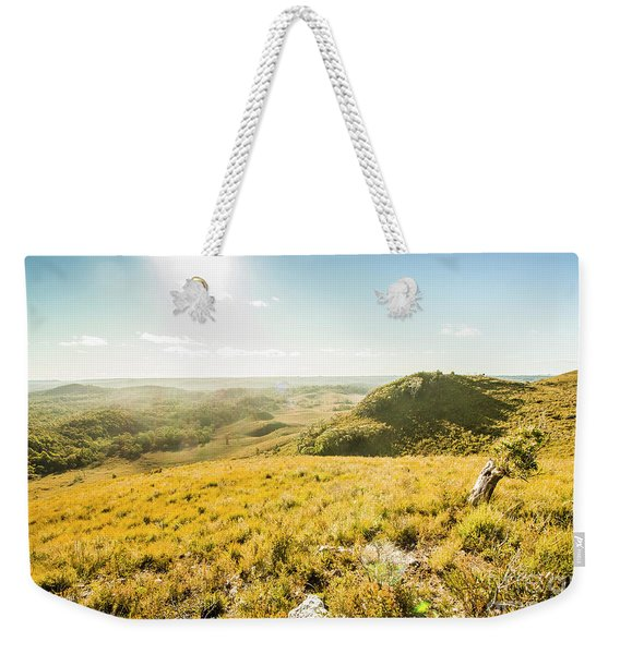 Milkshake Hills Lookout Weekender Tote Bag