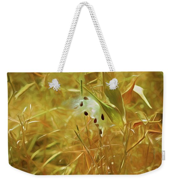 Milkweed In Sunlight 2 Weekender Tote Bag