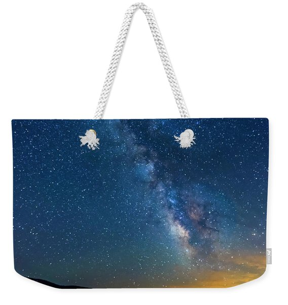 Weekender Tote Bag featuring the photograph Milky Way 6 by Jim Thompson