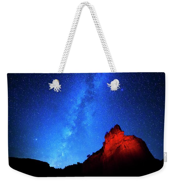 Milky Way And Caprock Weekender Tote Bag