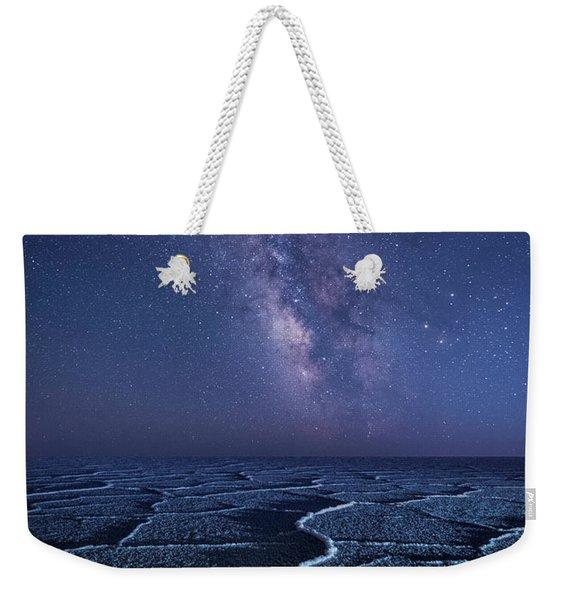 Milky Way At The Salt Flats Weekender Tote Bag