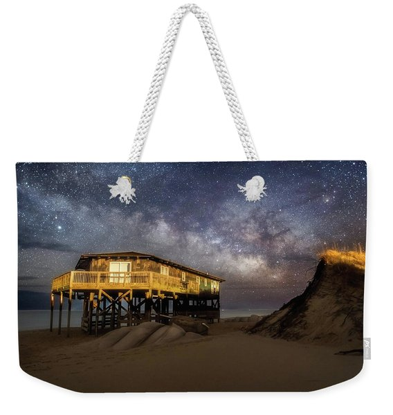 Milky Way Beach House Weekender Tote Bag