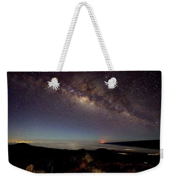 Milky Way From Mauna Kea Weekender Tote Bag