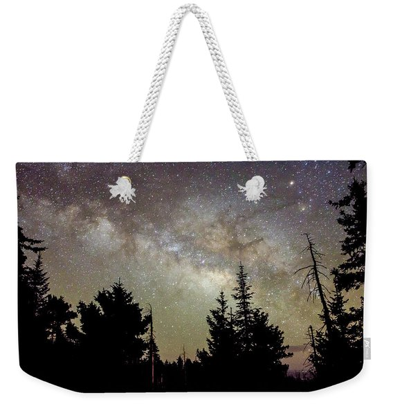 Milky Way From Mt. Graham Weekender Tote Bag