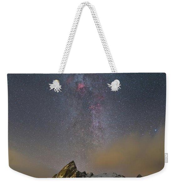 Milky Way In Lofoten Weekender Tote Bag