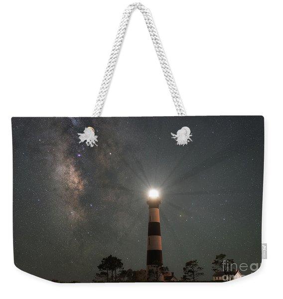 Milky Way Nightlight Weekender Tote Bag