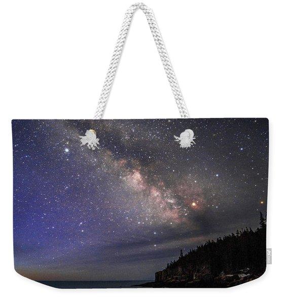 Milky Way Over Boulder Beach Weekender Tote Bag