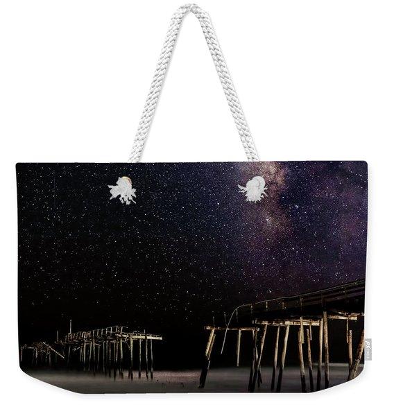 Milky Way Over Frisco Weekender Tote Bag