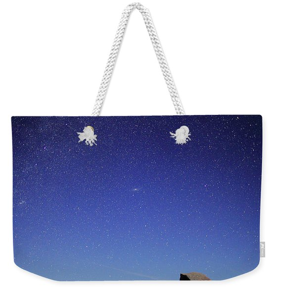 Milky Way Over Half Dome Weekender Tote Bag