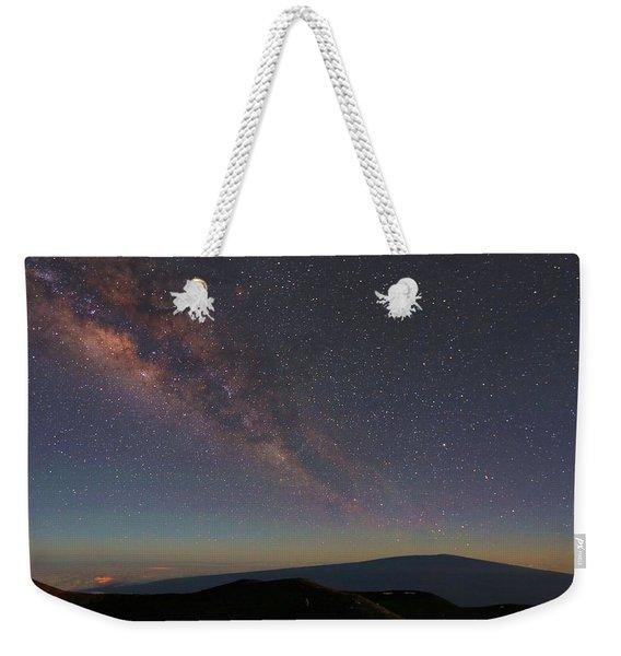 Milky Way Over Mauna Loa Weekender Tote Bag