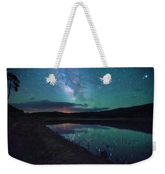 Milky Way Reflections Weekender Tote Bag