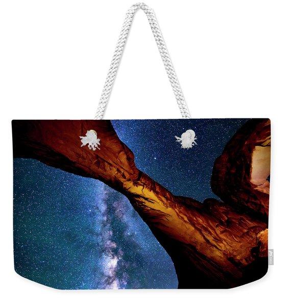 Milkyway At Arches Weekender Tote Bag