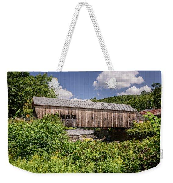Mill Bridge Weekender Tote Bag