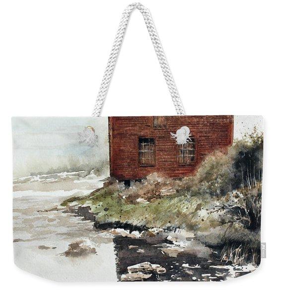 Mill Pond Weekender Tote Bag